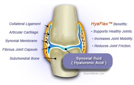 Hyaluronic acid for arthritis