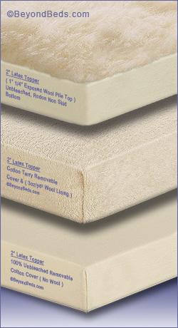 Latex Mattress Toppers Latex Mattress Toppers with Cotton Cover