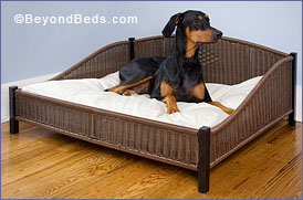 Decorative Pet Bed With Optional Memory Foam Cushion