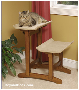 Mr. Herzheru0027s Feline Furniture Is An Attractive, Quality Alternative To  Over Priced Cardboard Or Carpeted Particle Board Cat ...