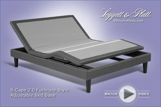 S Cape 2 0 Furniture Style Adjustable Bed Base Made In Usa